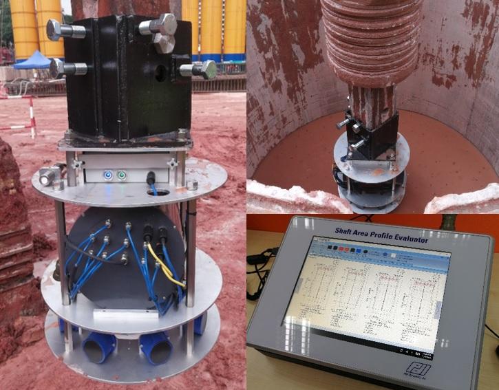 Shaft Area Pile Profile Tests (Sonicaliper-SHAPE-Koden Pile Test) - Geonamics (S) Pte Ltd