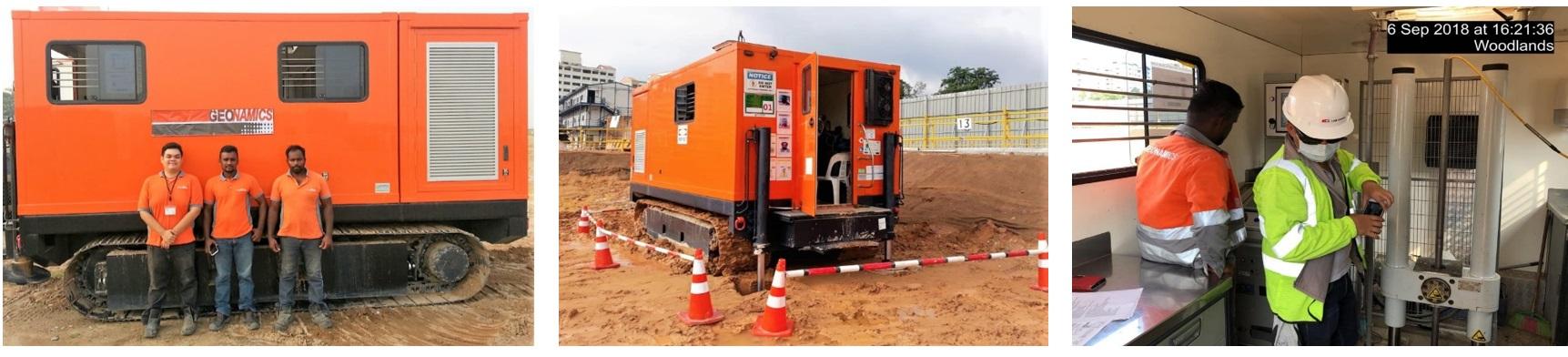 Soil-site-Investigation company-companies Singapore-Cone Penetration Test (CPT) - Geonamics (S) Pte Ltd