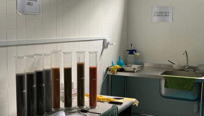 Singapore Soil Classification Physical Test-Hydrometer Area